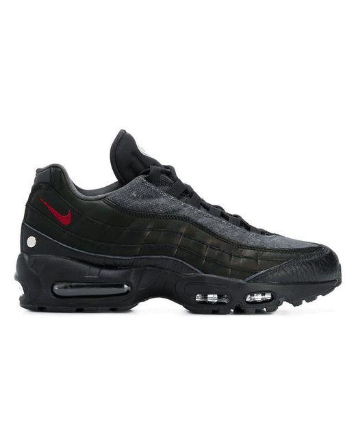 59fdf43ed33ec Nike - Black Air Max 95 Sneakers for Men - Lyst ...