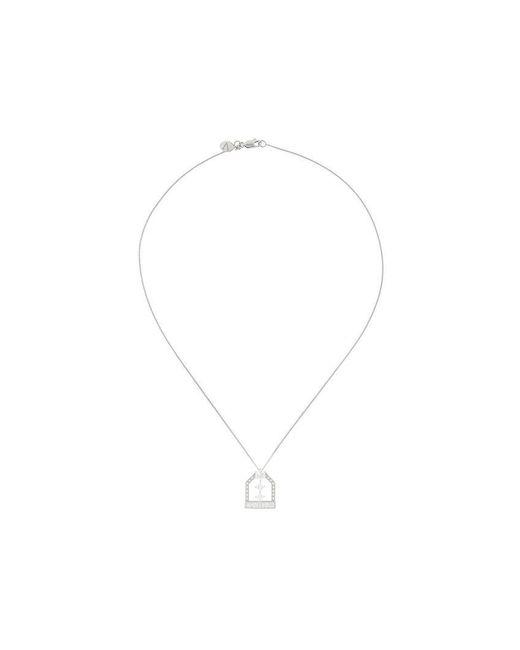 V Jewellery - Metallic Lochrie Pendant Necklace - Lyst