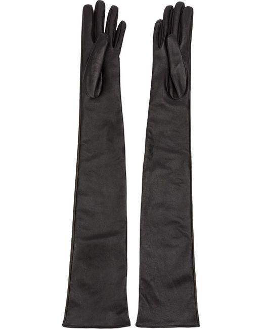Yang Li - Black Long Embellished Gloves - Lyst