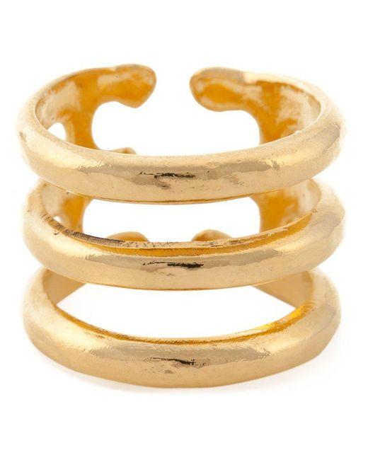 Aurelie Bidermann | Metallic 'esteban' Ring | Lyst