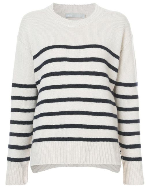 Vince - Multicolor Striped Sweater - Lyst