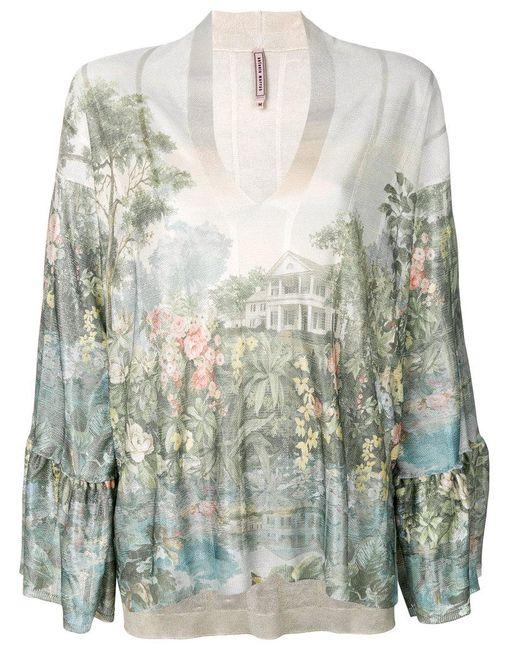 Antonio Marras - Multicolor St. Paesaggio Sweater - Lyst