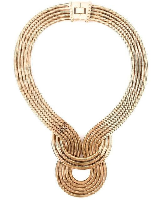 Lara Bohinc | Metallic 'lunar Eclipse' Necklace | Lyst