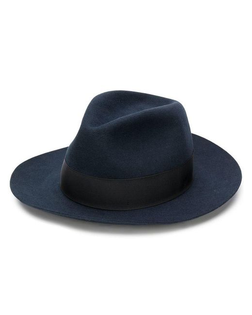 Borsalino - Blue Ribbon Hat - Lyst
