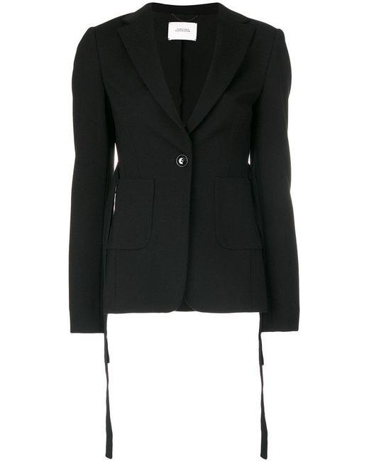 Dorothee Schumacher | Black Belted Fitted Jacket | Lyst