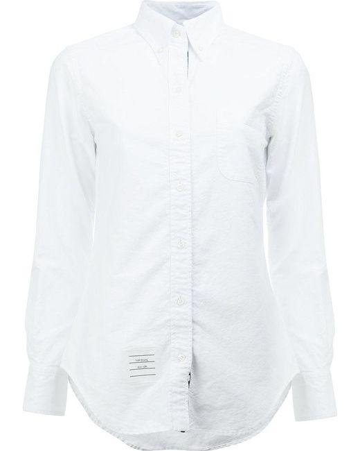 Thom Browne | White Classic Shirt | Lyst