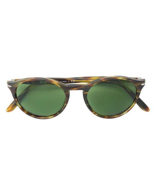9686c66bdba82 Persol - Brown Round Sunglasses for Men - Lyst ...