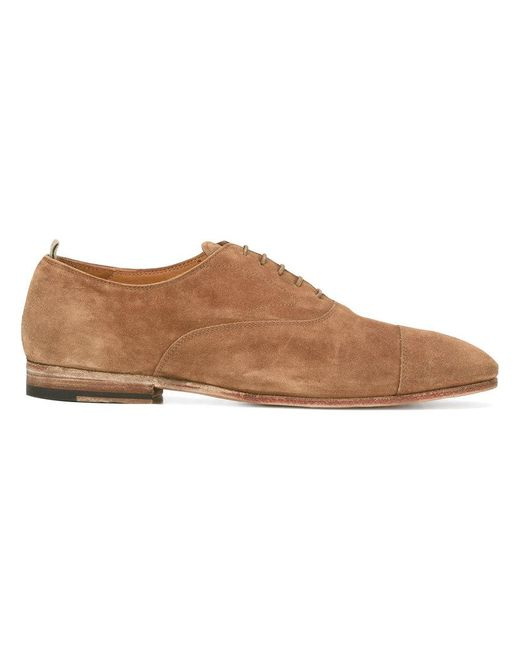 Officine Creative - Brown 'softy Sigaro' Shoes for Men - Lyst