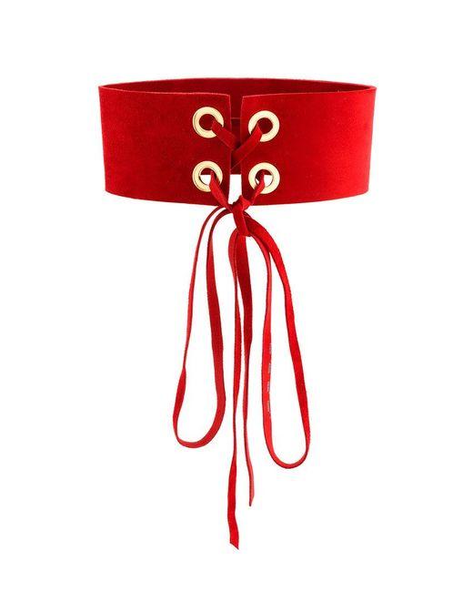 Manokhi - Red Mira Choker - Lyst