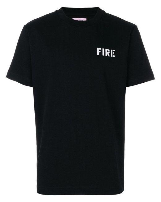 Palm Angels - Black Fire T-shirt for Men - Lyst
