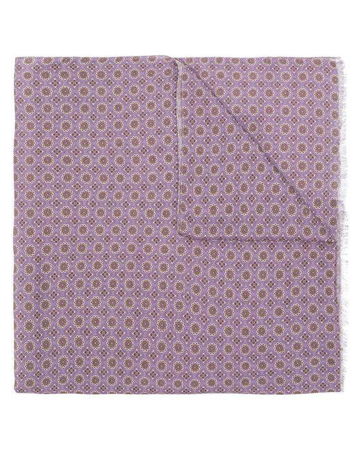 Pal Zileri - Purple Printed Fringed Scarf for Men - Lyst