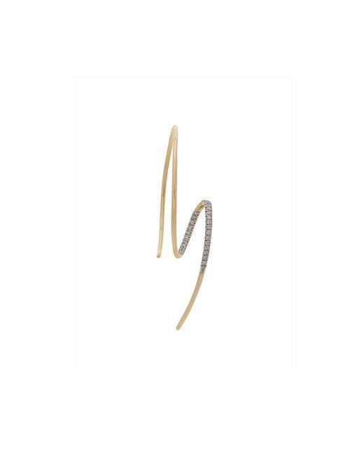 Maria Black - Metallic 14kt Yellow Gold Dream Catcher Diamond Earring - Lyst