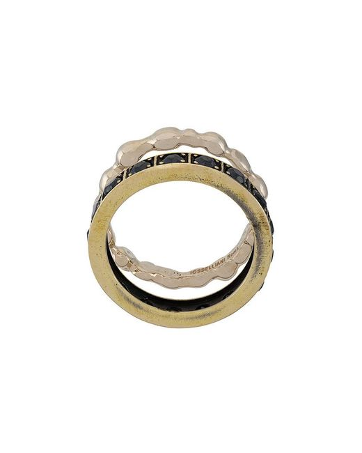 Iosselliani - Metallic Burma Ring Set - Lyst