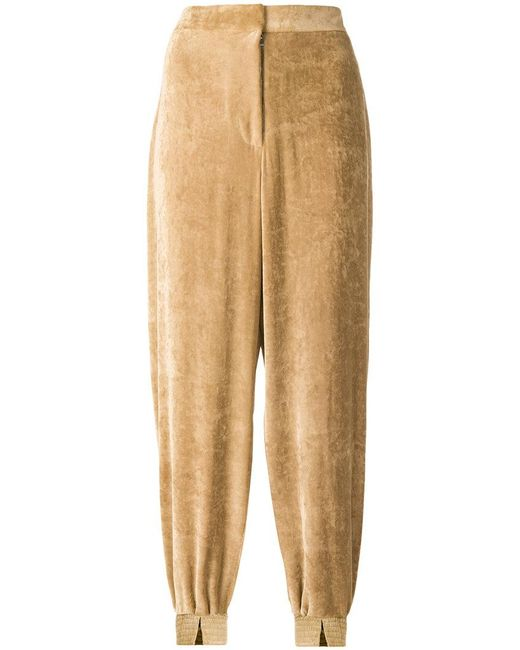 Stella McCartney - Natural Harem Style Trousers - Lyst
