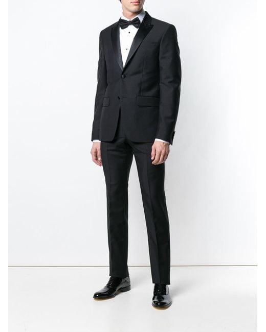 139cbe21033eb5 ... Lyst Dolce & Gabbana - White Pleated Bib Shirt for Men ...