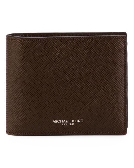 Michael Kors - Brown 'harrison' Wallet for Men - Lyst