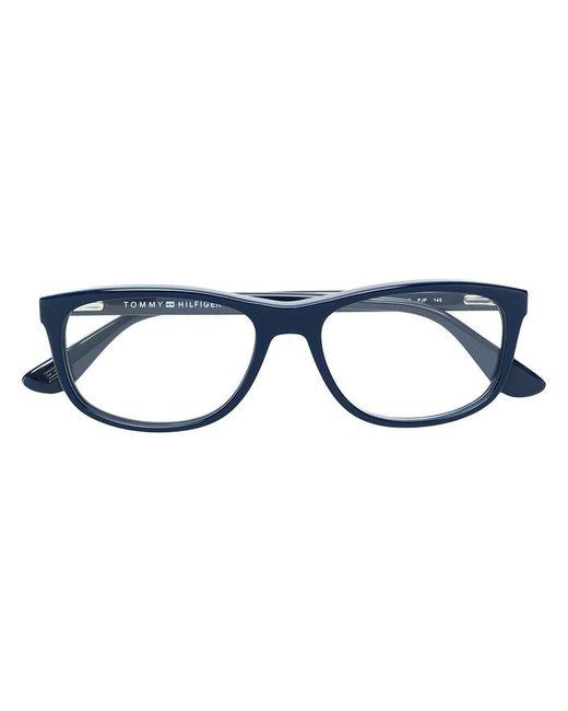 Tommy Hilfiger - Blue Rectangular Glasses for Men - Lyst
