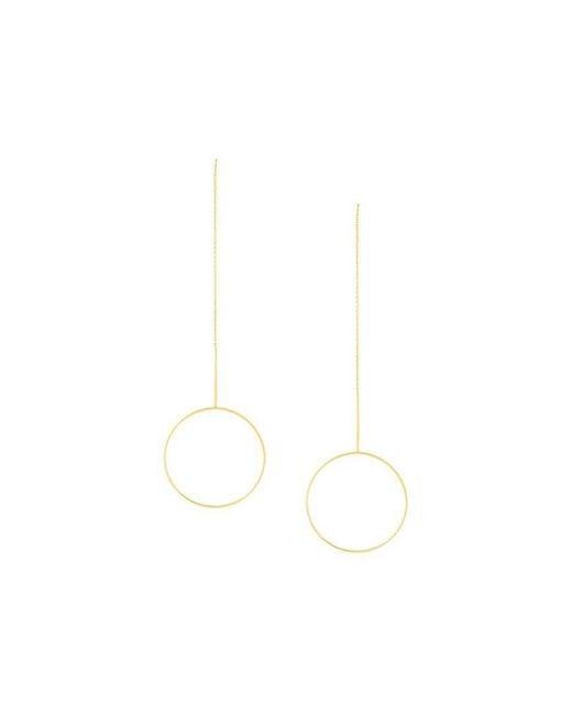 Maria Black | Metallic 'monocle' Earrings | Lyst