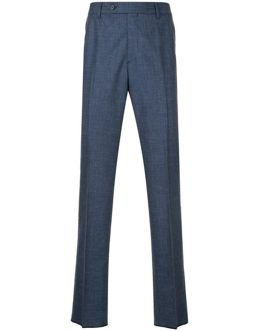 Gieves & Hawkes - Blue Tailored Pants for Men - Lyst