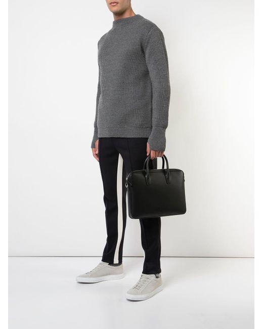 730733bae ... Mansur Gavriel - Black Small Briefcase Bag for Men - Lyst ...