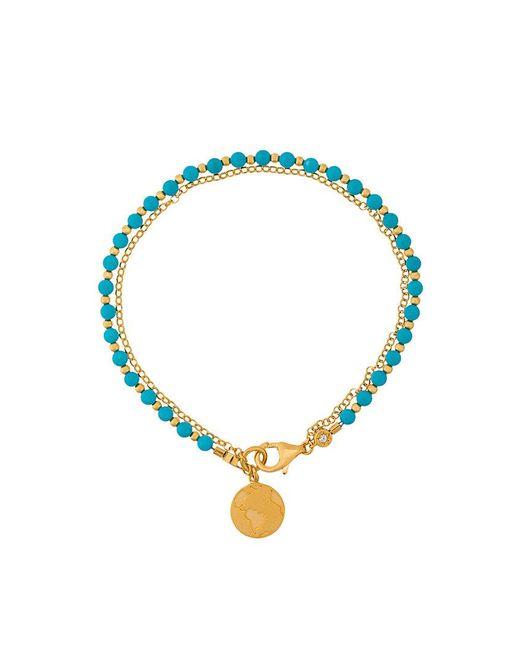 Astley Clarke | Blue Earth Biography Bracelet | Lyst