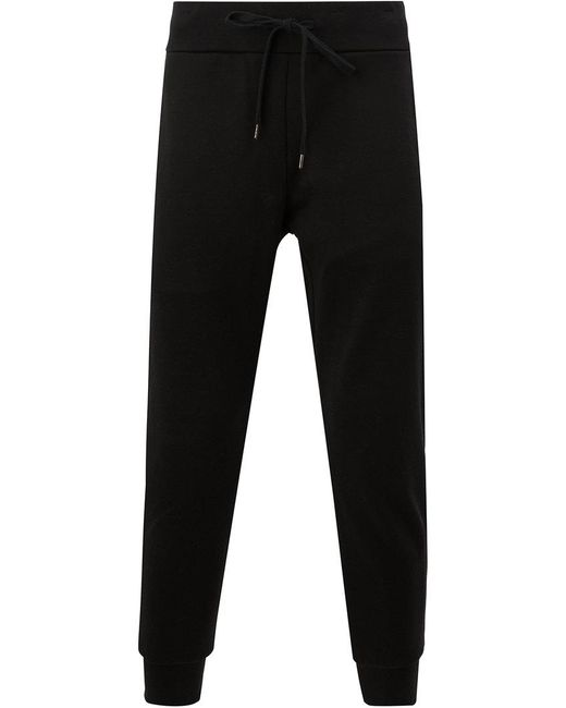 Attachment - Black Cropped Drawstring Track Pants for Men - Lyst
