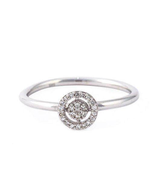Astley Clarke - Metallic Mini Icon Aura Diamond Ring - Lyst