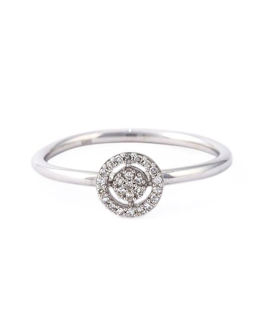 Astley Clarke | Metallic Mini 'icon Aura' Diamond Ring | Lyst