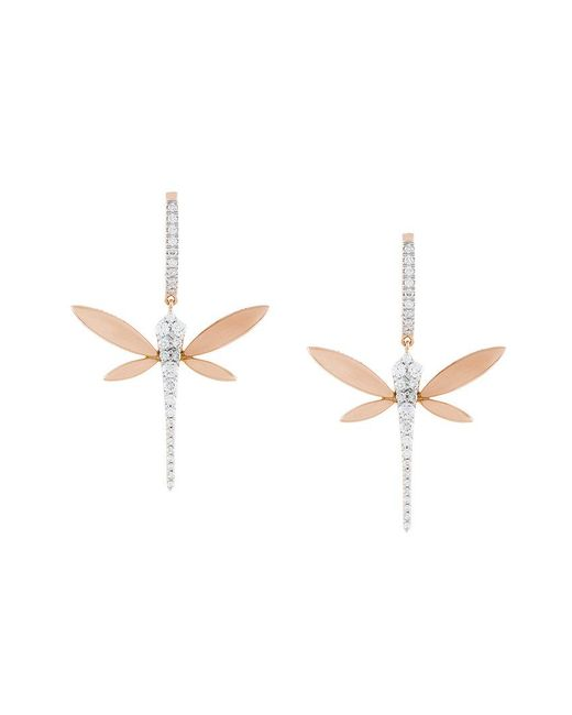 Anapsara - Metallic Orecchini 'dragonfly' - Lyst