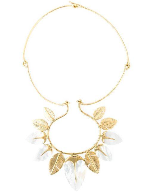 Aurelie Bidermann - Metallic 'talitha' Necklace - Lyst