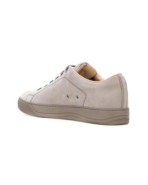 classic lace-up sneakers - Grey Lanvin 0tIUaRCV