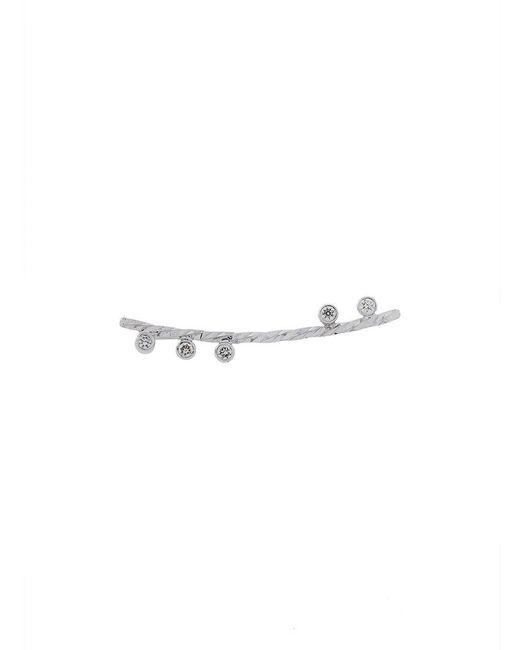 Maria Black - Metallic Diamond Cut Colette Earring (left) - Lyst