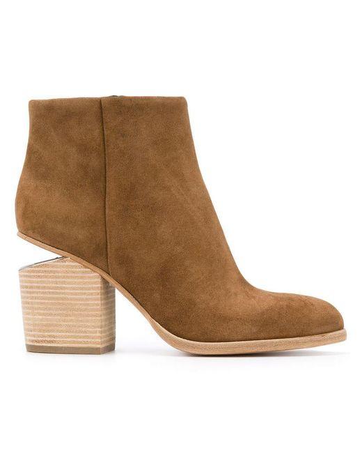 Alexander Wang - Brown Gabi Ankle Boots - Lyst