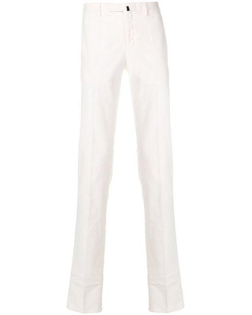 Incotex | White Slim Fit Denim Jeans for Men | Lyst