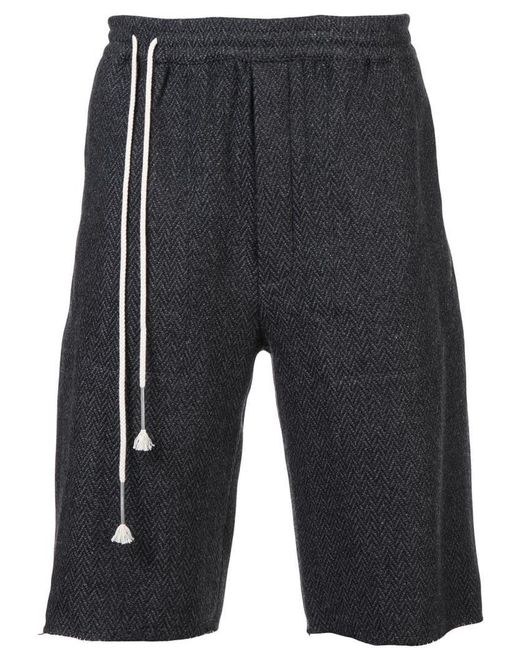Siki Im - Gray Long Workout Shorts for Men - Lyst