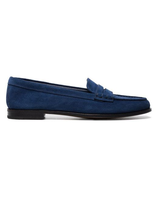 Church's - Blue Kara Suede Loafers - Lyst