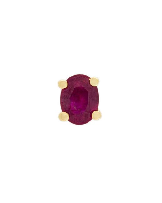 Wouters & Hendrix - Metallic Ruby Stud Earring - Lyst