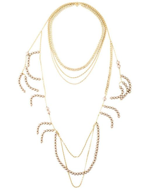 Wouters & Hendrix - Metallic 'holiday' Necklace - Lyst