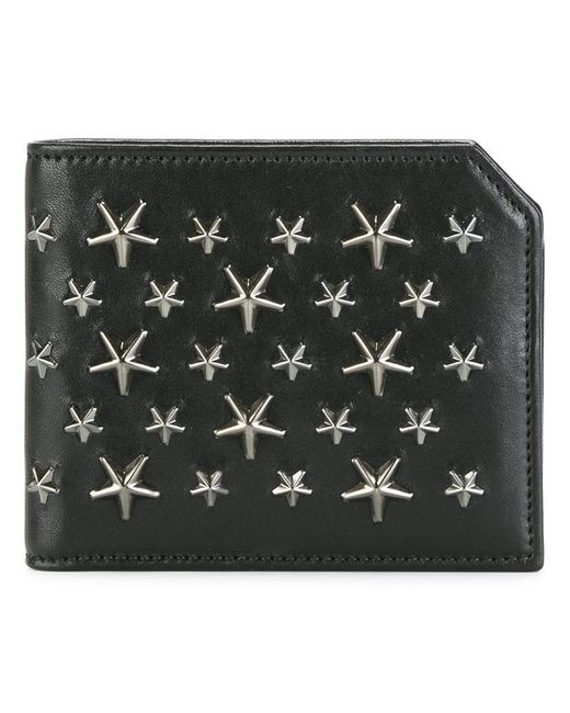 Jimmy Choo | Black Albany Billfold Wallet for Men | Lyst