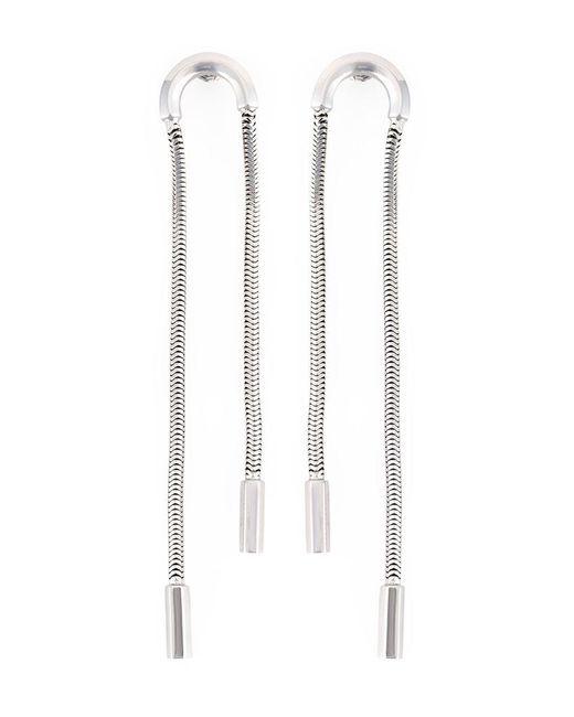 Lara Bohinc | Metallic 'schumacher' Double Earrings | Lyst