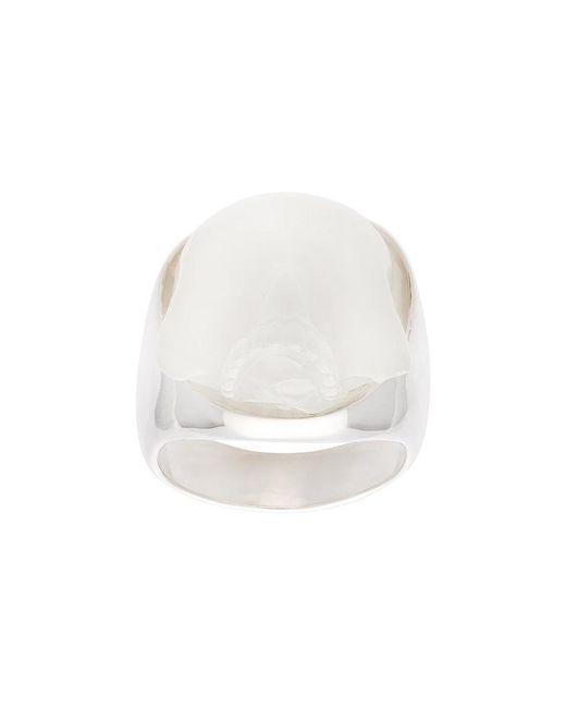 Undercover   Metallic Skull Ring for Men   Lyst