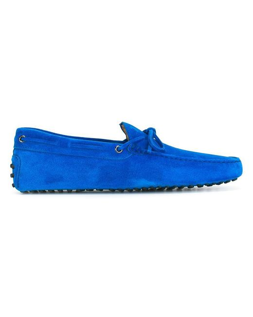 Tod's - Blue 'gommini' Driving Shoes for Men - Lyst