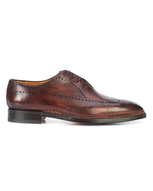 Bontoni | Brown Sciuscia Oxford Shoes for Men | Lyst