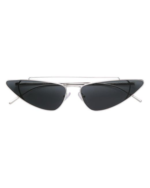 Prada - Metallic Ultravox Cat-eye Sunglasses - Lyst