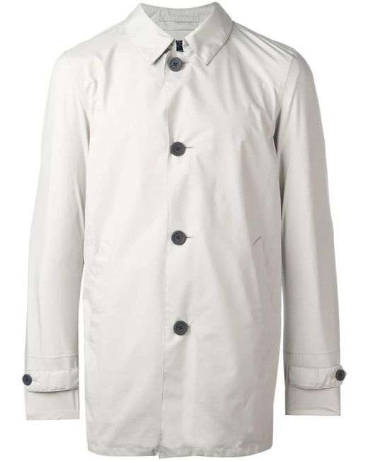 Herno - Multicolor Classic Buttoned Coat for Men - Lyst