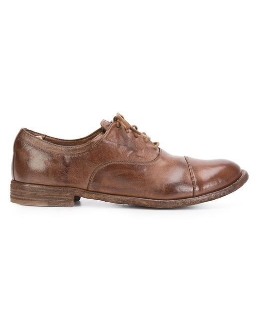 Officine Creative | Brown Lexikon Oxfords for Men | Lyst