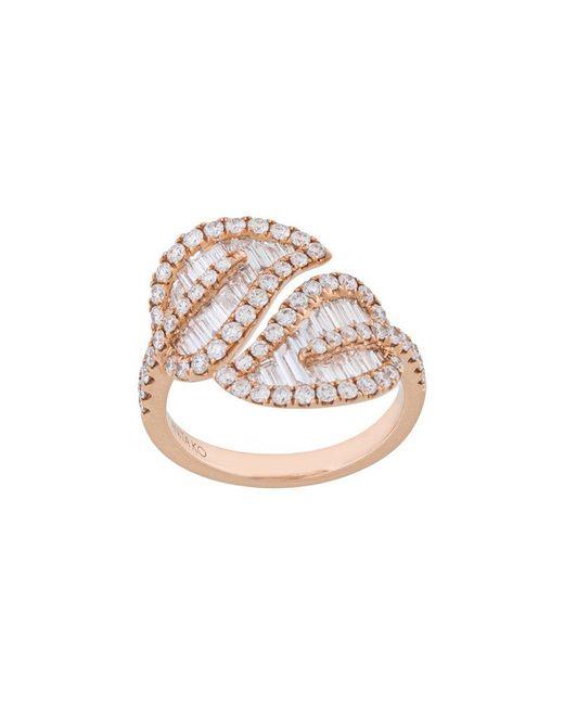 Anita Ko - Metallic Large Leaf Ring - Lyst