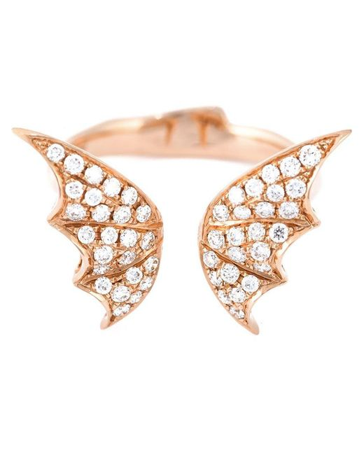 Stephen Webster - Pink Bat Wings Diamond Ring - Lyst