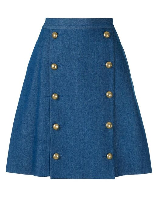 Macgraw | Blue Solar Skirt | Lyst