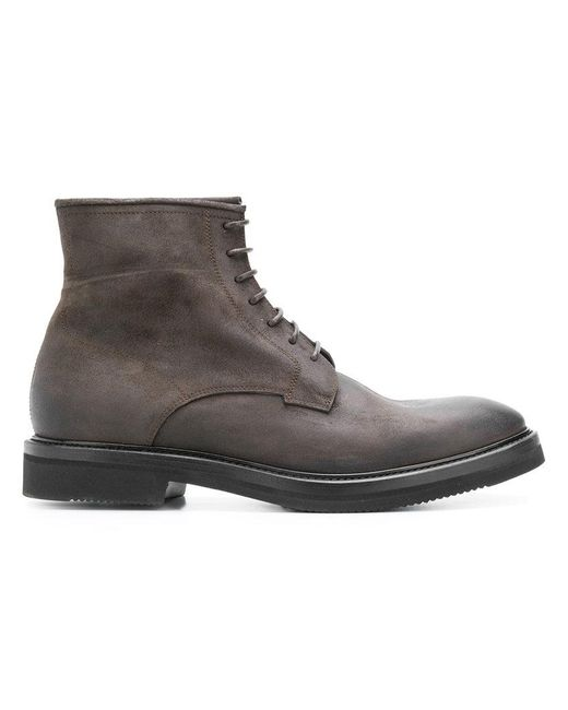 Henderson - Brown Lace-up Ankle Boots for Men - Lyst